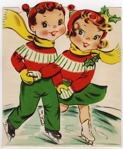 Vintage natal Cards