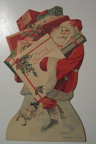 Vintage navidad Cards