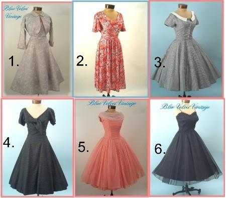 Платье 60-х годов с пышной юбкой своими руками 1