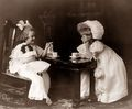 Vintage Tea Party  - vintage photo