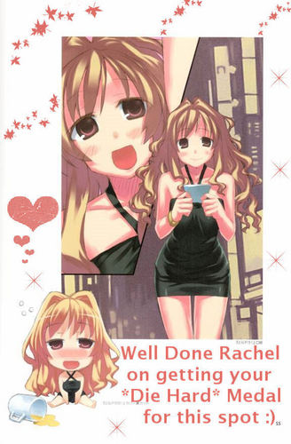 Well Done Rachel on getting your *Die Hard* Medal for this spot :)