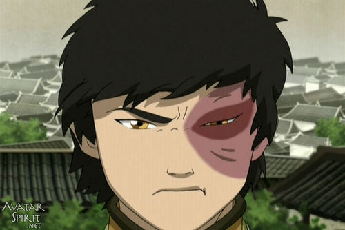 Zuko's reaction to Kataang
