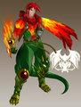 ailda the hybrid dragonman