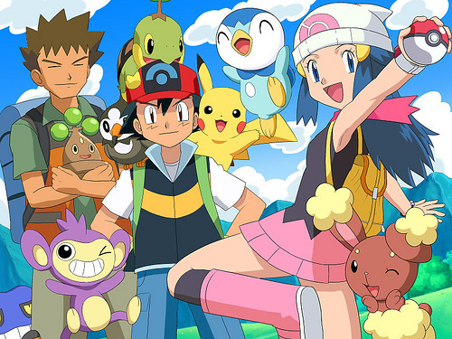 ash+brock+dawn-and-the-Pokemon