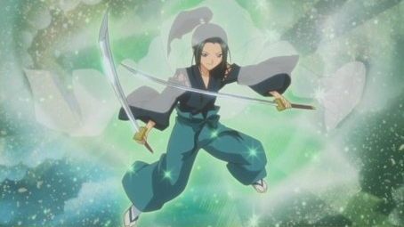 character transformation: samurai soul