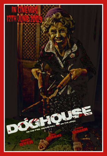 film horror wallpaper containing anime titled doghouse