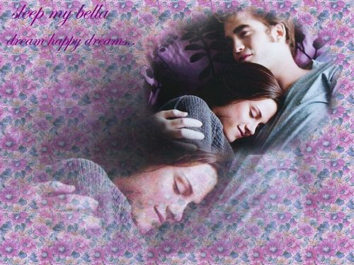 edward and bella Обои