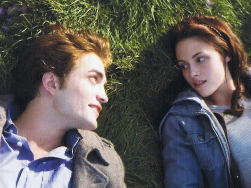 edward and bella 壁紙