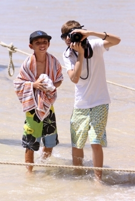 justin bieber in hawaii