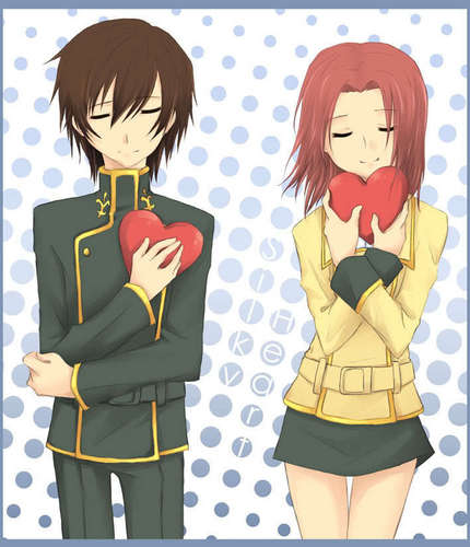 kallen and lelouch