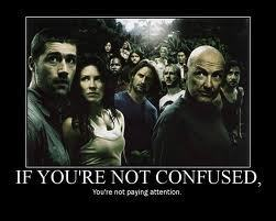 lost=confusing :)