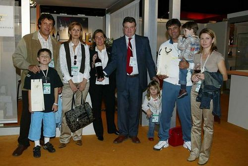 Rafael Nadal wallpaper with a business suit and a well dressed person called rafa parents,toni and his children and wife