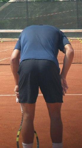 rafa shows ass !!