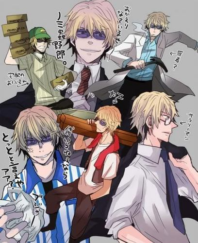 Heiwajima Shizuo 壁紙 containing アニメ called shizuo heiwajima