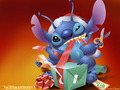 stitch in haloween - lilo-and-stitch wallpaper