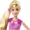 thumbelina barbie doll close up