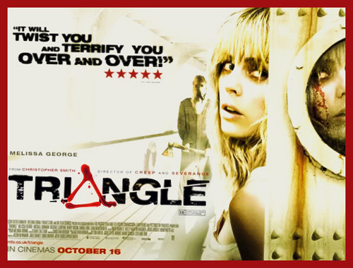 Horror فلمیں پیپر وال probably with a portrait called triANGLe
