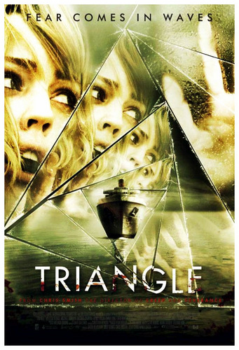 Horror فلمیں پیپر وال with a parasol entitled triANGLe