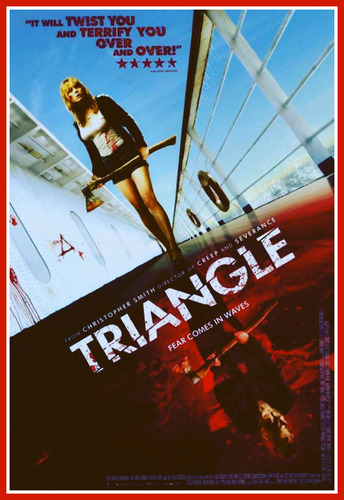 Filem Seram kertas dinding called triANGLe