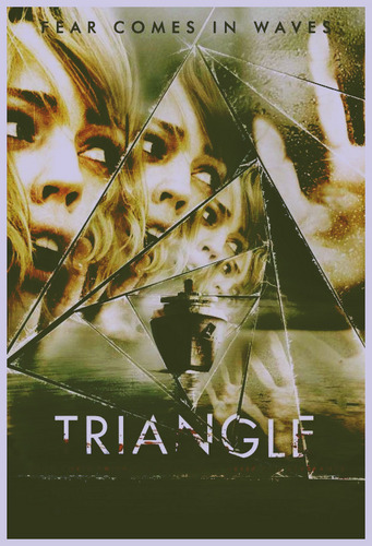 Horrorfilme Hintergrund titled triANGLe