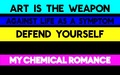 'Art Is The Weapon' - my-chemical-romance wallpaper