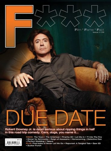 F (Film, Fame, Fact) - (Oct 2010, Issue #9)