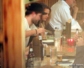 10/10/1910 - Robsten dinner at a Japanese restaurant - twilight-series photo