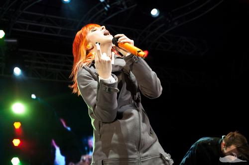 13.10.10 paramore @ Sidney Myer musik Bowl, Melbourne, Australia