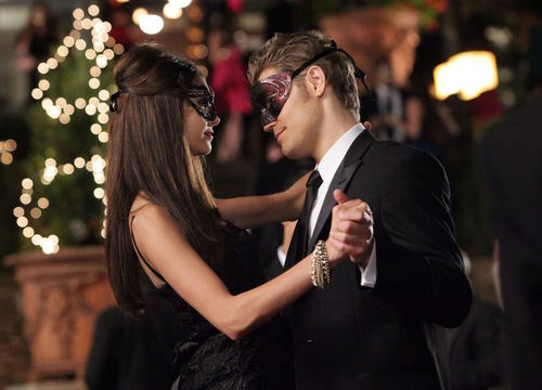 The Vampire Diaries wallpaper containing a business suit titled 2.07 – Masquerade