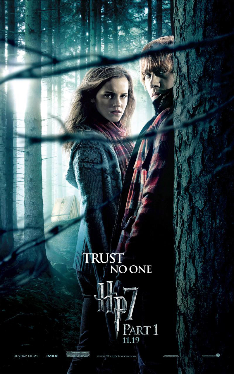 Hermione granger 2 new harry potter 7 promo posters