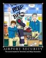 Airport - anime fan art