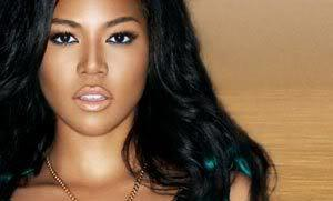 Amerie wallpaper with a portrait entitled Amerie