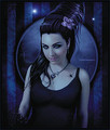 Amy Lee Painting - amy-lee fan art