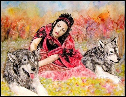 Amy Lee Wolfs Rain سے طرف کی zhao1