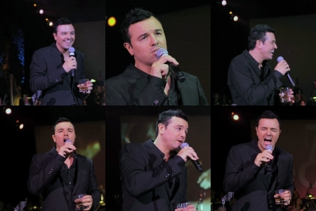 Seth MacFarlane wallpaper containing a business suit, a concert, and a dress suit entitled An Evening Affair