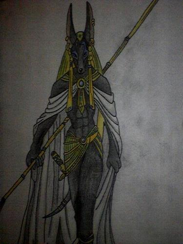 Anubis: Lord of Death (w/o background)