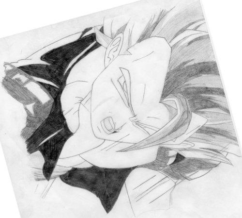 Artworx88:My Fail Gogeta drawing! :(