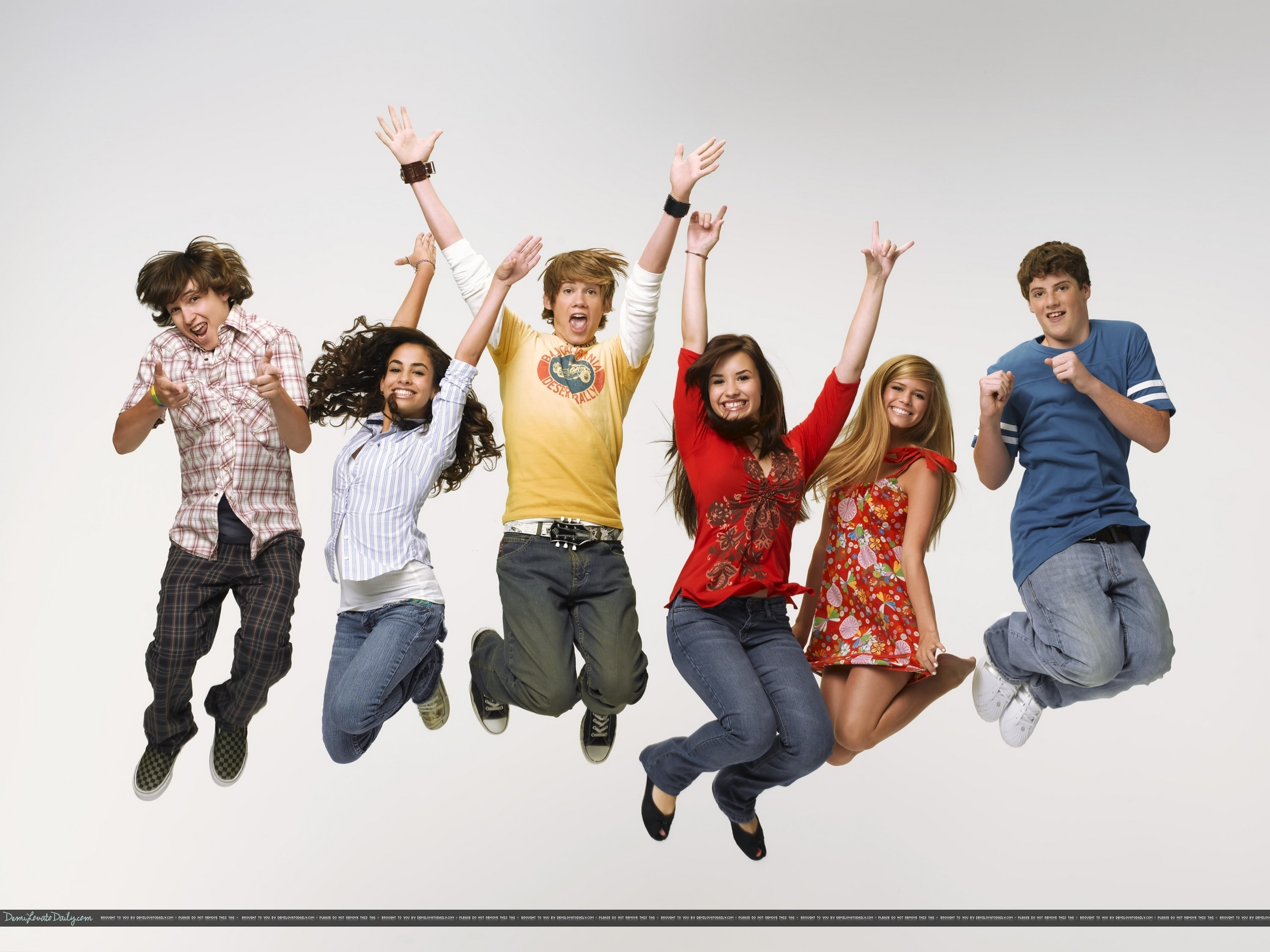 Tony Oller And Demi Lovato As The Bell Rings
