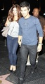 Ashley Greene and Joe Jonas arrives at the Japanese restaurant - twilight-series photo