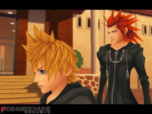 Axel and Roxas...Angry - axel Screencap