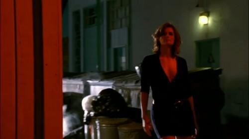 Beckett in the alley.