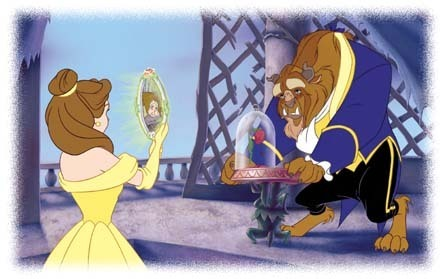 Disney Couples wallpaper titled Belle & Beast