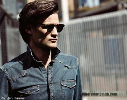 Matt Smith 壁纸 containing sunglasses called Ben Harries 2010 Photoshoot