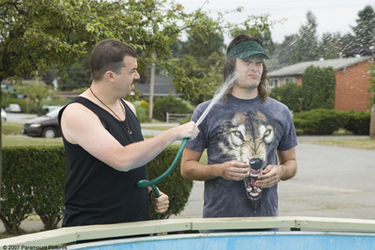 Bill Hader kertas dinding with a hot tub entitled Bill Hader