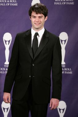 Bill Hader वॉलपेपर containing a business suit, a suit, and a three piece suit called Bill Hader