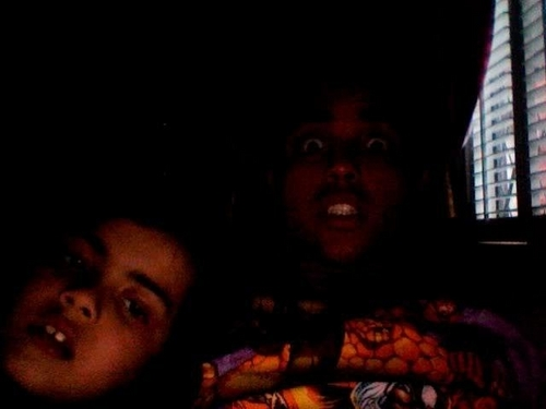 Blanket&Donte webcam Shut up!