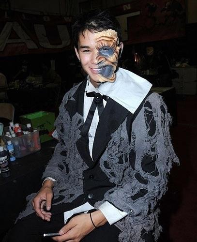 Booboo Stewart at Knott's Scary Farm হ্যালোইন Haunt (13.10.10)