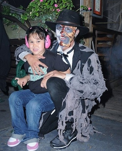 Booboo Stewart at Knott's Scary Farm ハロウィン Haunt (13.10.10)
