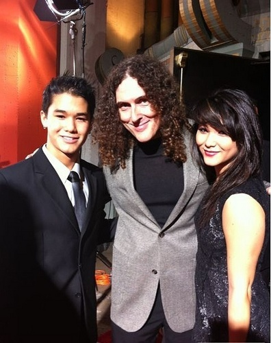 Booboo Stewart at the premiere of RED