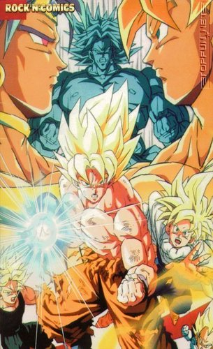 An Awesome pic of Broly and goku